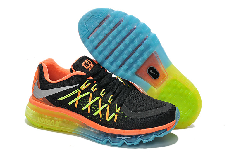 Nike Air Max 2015 Black Orange Yellow Runnins