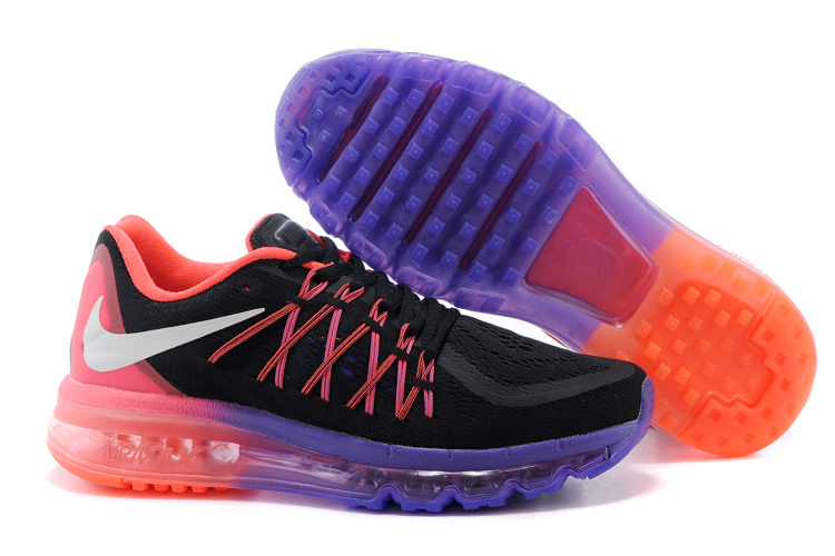 Nike Air Max 2015 Black Purple Pink Runnings