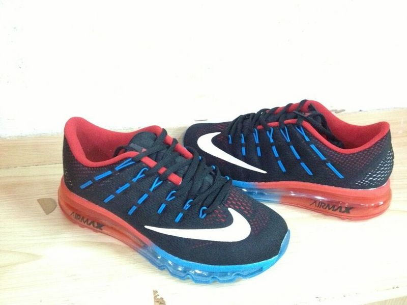 Nike Air Max 2016 Black Blue Red Shoes