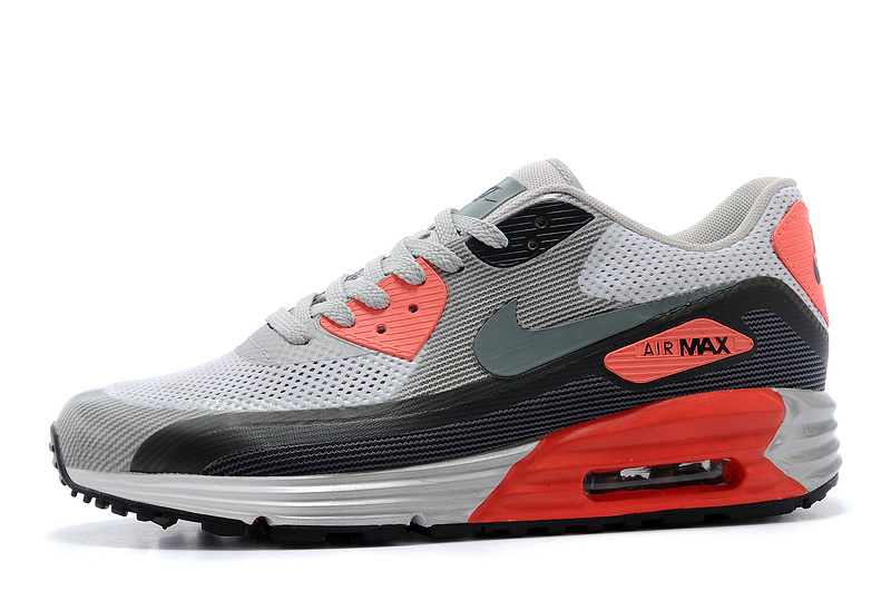 Nike Air Max 90 25th Anniverary Grey Black White Red Runnings