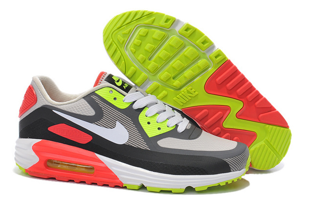 Nike Air Max 90 25th Black Green Red White Runnings