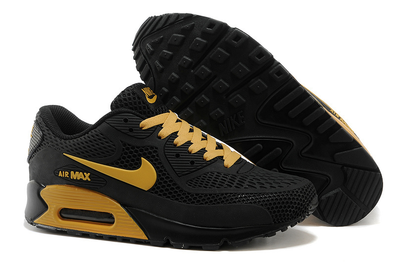 Nike Air Max 90 Black Gold Runnings