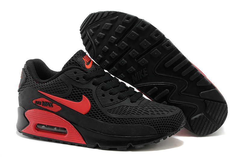 Nike Air Max 90 Black Red Runnings