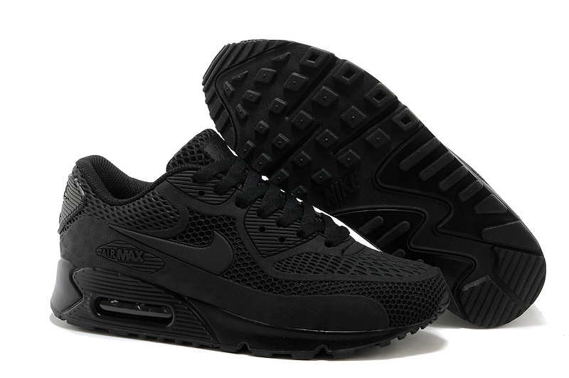 Nike Air Max 90 Black Running Shoes