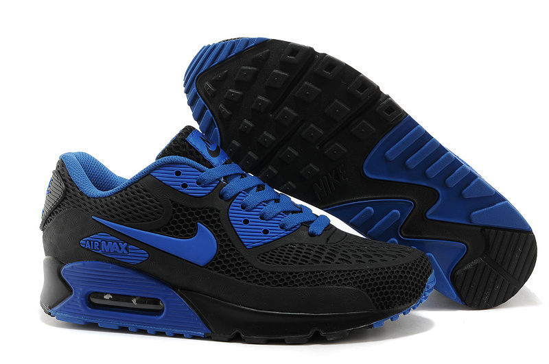 Nike Air Max 90 Men Blue White Runnings