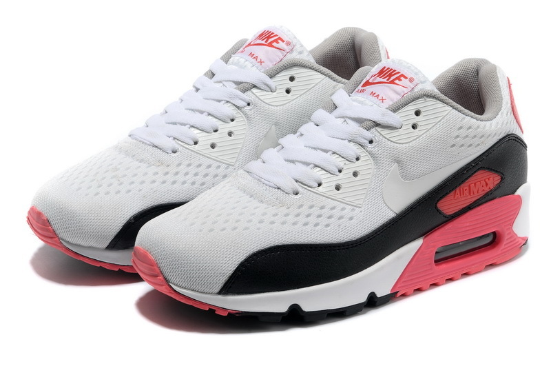 Nike Air Max 90 Premium White Black Red Runnings