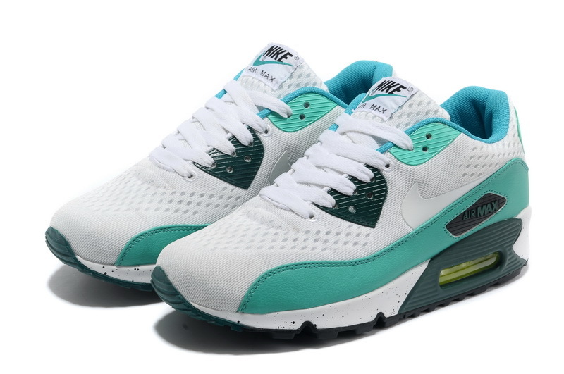 Nike Air Max 90 Premium White Blue Black Runnings