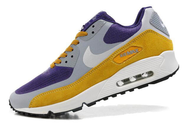 Nike Air Max 90 Premium Yellow Black Grey Runnings