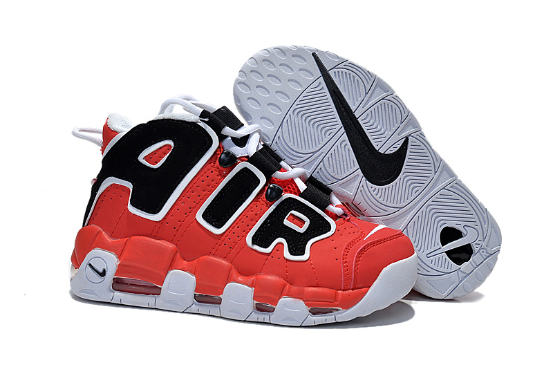 Women's Nike Air Pippen Red Black White Shoes