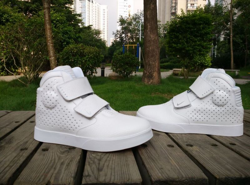New Nike FLYSTEPPER 2K3 Yeezy All White Sneaker For Sale
