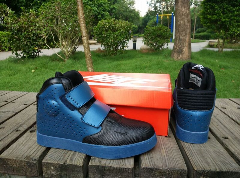 New Nike FLYSTEPPER 2K3 Yeezy Black Blue Sneaker For Sale