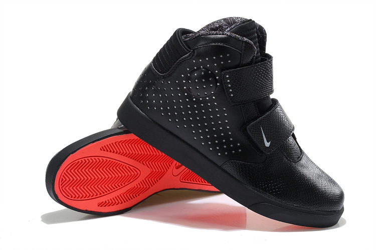Nike Flystepper 2K3 Yeezy All Black Red Sole Shoes