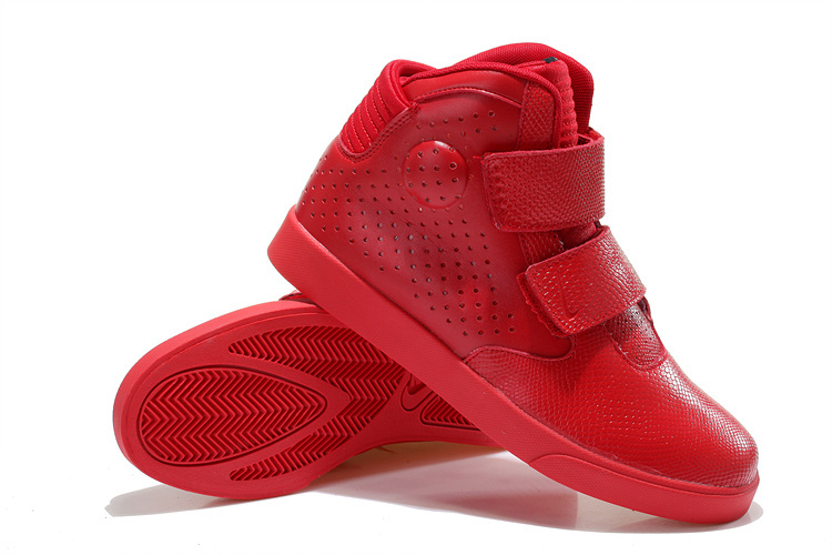 Nike Flystepper 2K3 Yeezy All Red Shoes