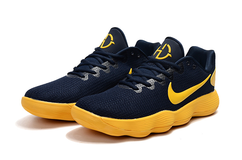 Nike Hyperdunk 2017 Dark Blue Yellow Shoes