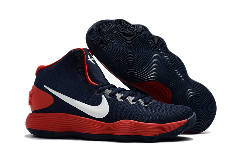 Nike Hyperdunk 2017 EP Dark Blue Red Shoes