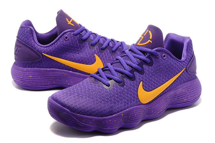 Nike Hyperdunk 2017 Lakers Purple Shoes