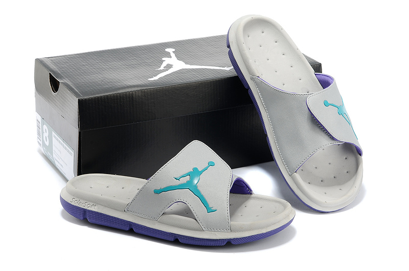 Nike Jordan Massage Hydro Original Grey Green Sandal
