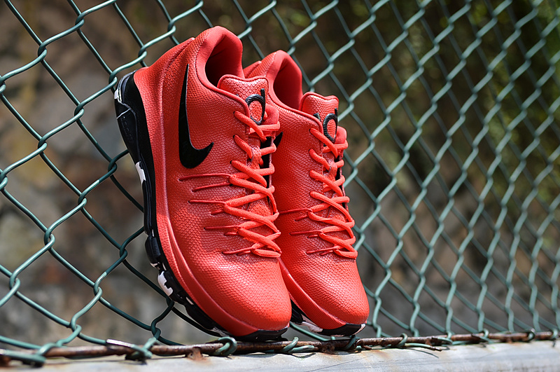 New Nike KD 8 Air Zoom Cushion Red Black Sneaker For Sale