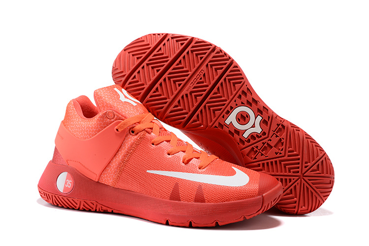 Nike KD Trey 5 All Red Shoes
