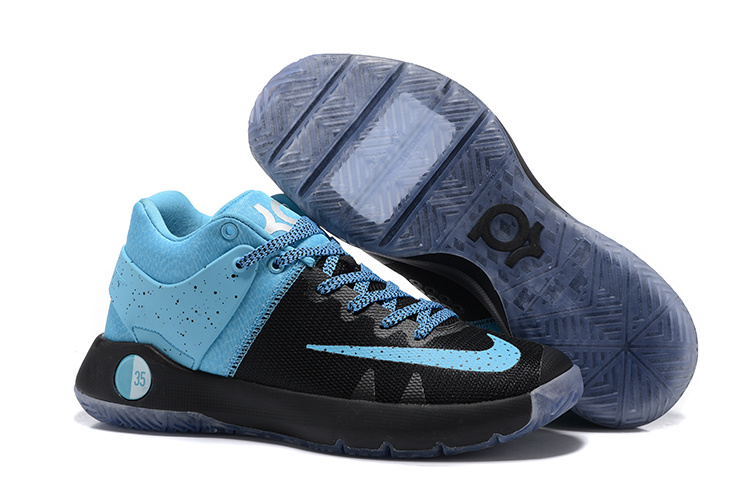 Nike KD Trey 5 Black Blue Shoes