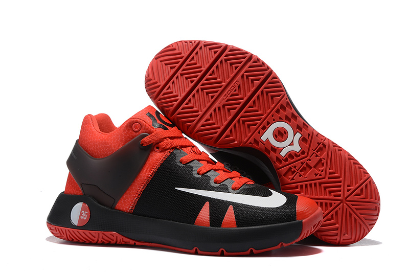 Nike KD Trey 5 Black Red Basketball Shoes
