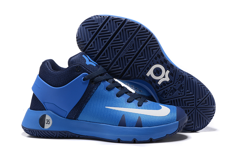 Nike KD Trey 5 Blue Basketball Shoes