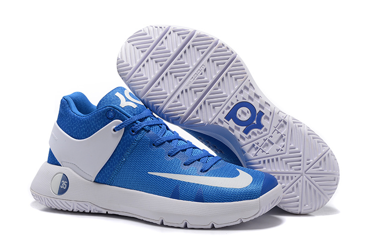 Nike KD Trey 5 Blue WHite Shoes