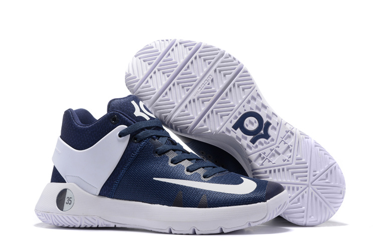 Nike KD Trey 5 Dark Blue White Shoes