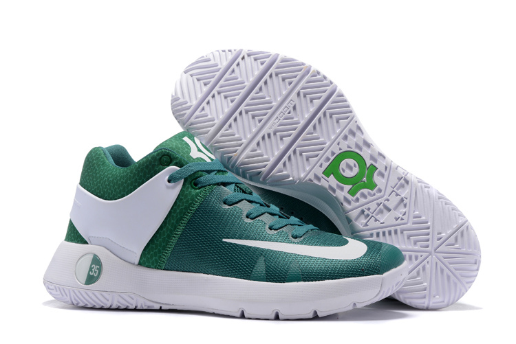 Nike KD Trey 5 Green White Shoes