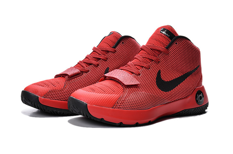 New Nike KD Trey 5 III Red Black Basketball Shoes