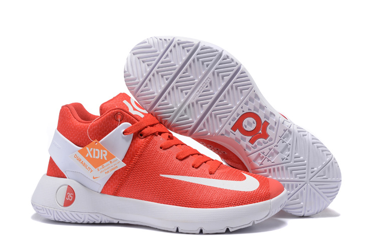 Nike KD Trey 5 Orange White Shoes