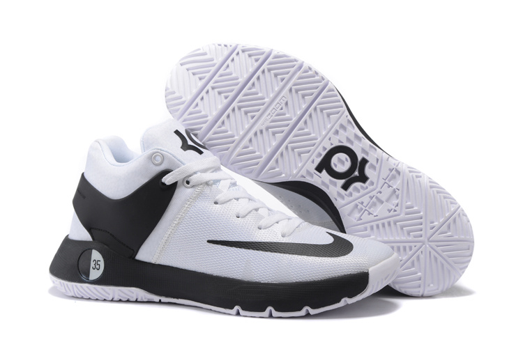 Nike KD Trey 5 White Black Shoes