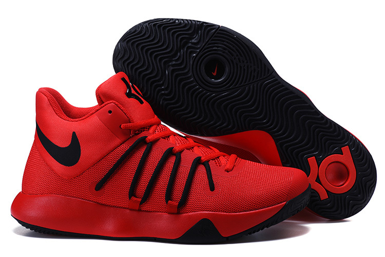 Nike KD Trey 6 Red Black Shoes