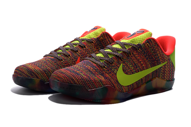 Nike Kobe 11 Knit Colorful Sneaker