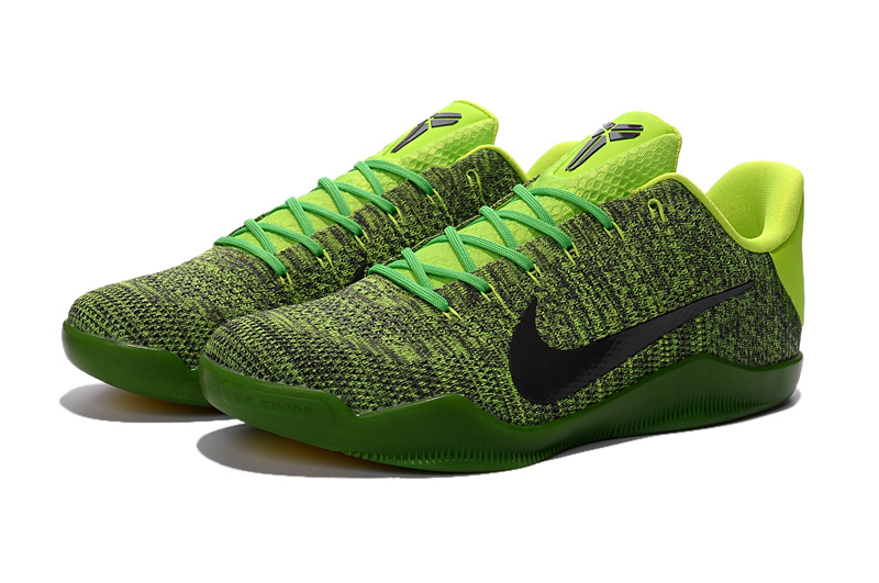 Nike Kobe 11 Knit Grass Green Black Sneaker