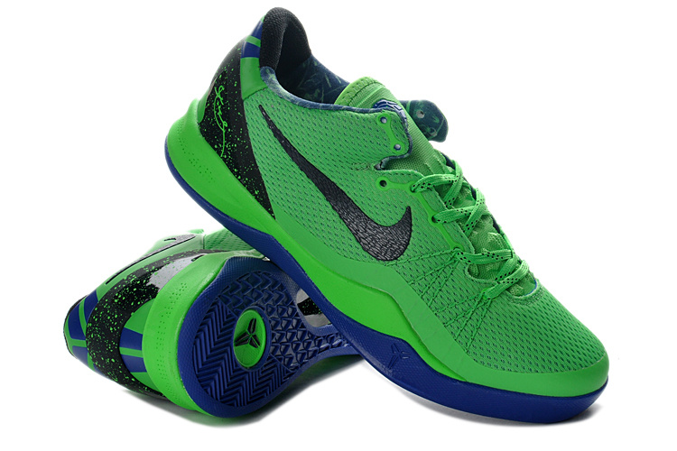 Nike Kobe Bryant 8 Playoff Green Black Blue Sneaker
