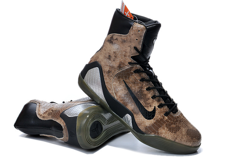 Nike Kobe Bryant 9 High Original Snake Skin Shoes