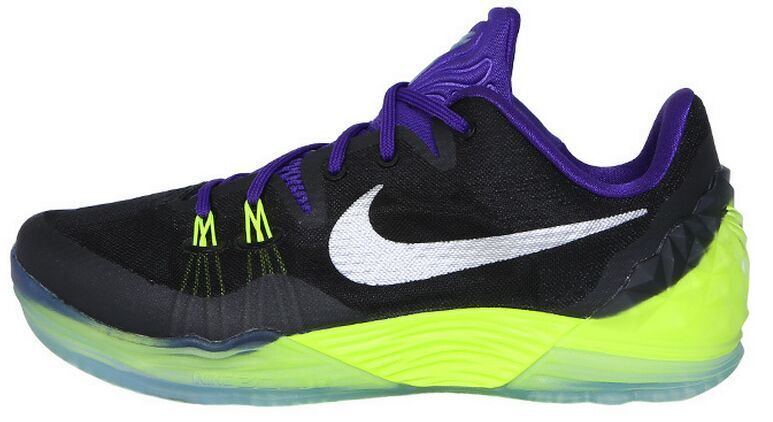 New Nike Kobe Venomenon 5 Black Purple Fluorscent Basketball Shoes
