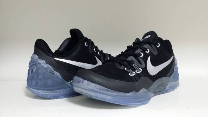 Latest Nike Kobe Venomenon 5 Black Blue Sole Basketball Shoes