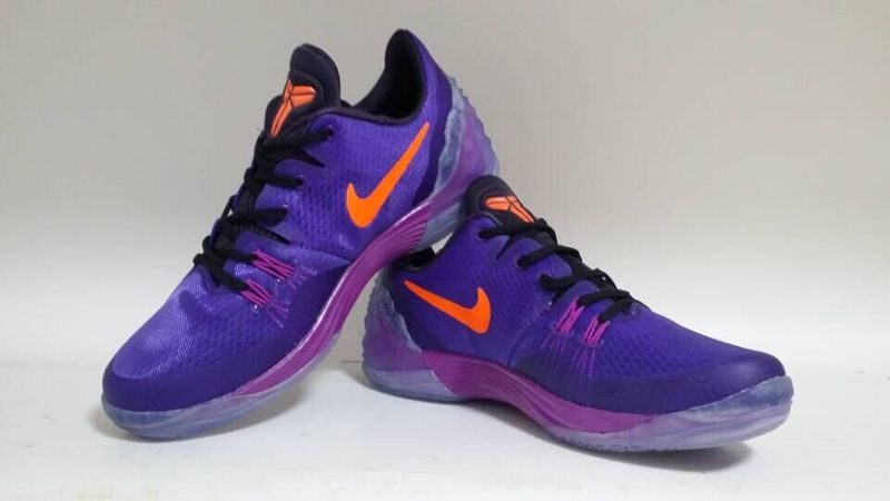 New Nike Kobe Venomenon 5 Purple Orange Sneaker For Sale