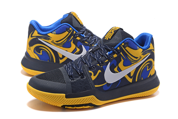 Nike Kyrie 3 Camour Blue Shoes For Sale