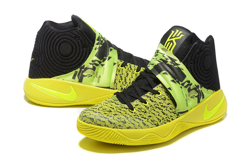 Nike Kyrie 2 Fluorscent Black Shoes