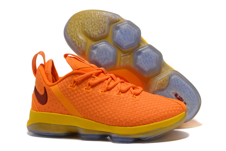 Nike Lebron 14 Calverland Yellow Shoes