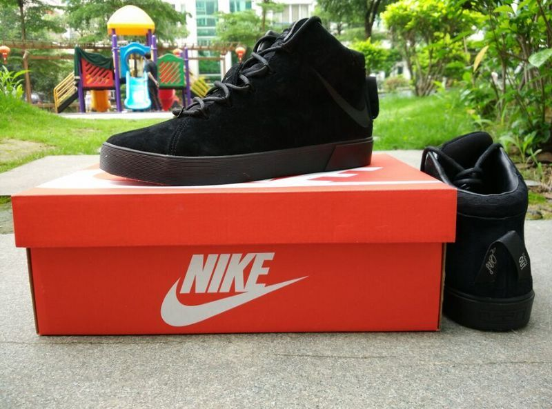 Nike Lebron 12 NSW Lifestyle All Black Shoes