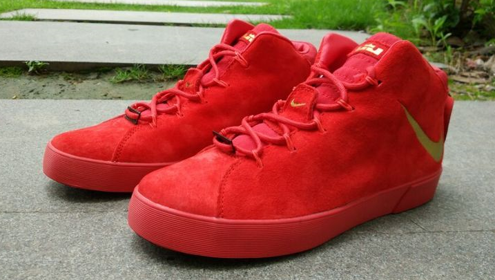 Nike Lebron 12 NSW Lifestyle Shoes All Red