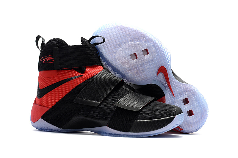 Nike Lebron Solider 10 Game Red Shoes