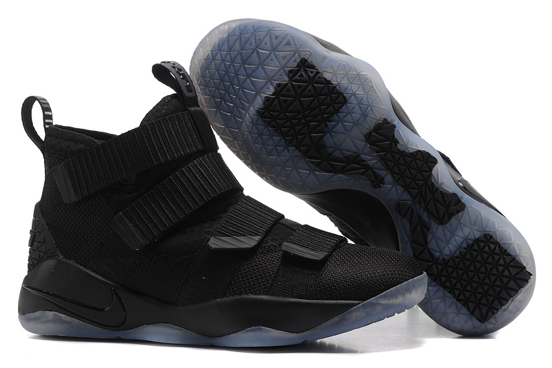 Nike Lebron Solider 11 Black Icy Shoes
