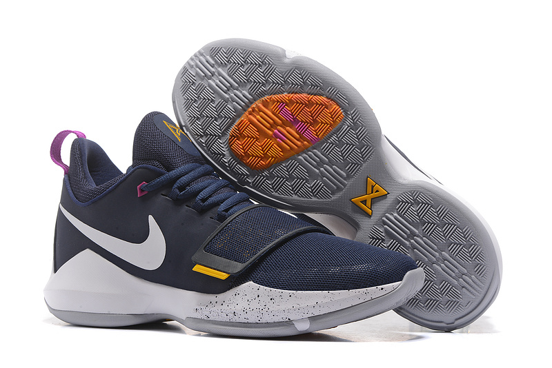 Nike Paul George 1 Pacers Basketball Shoes