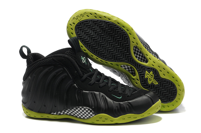 Nike Penny Hardaway 1 Classic Black Yellow Shoes