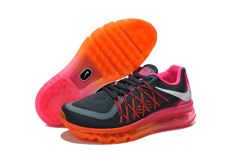 Nike Women Air Max 2015 Black Red White Runnings